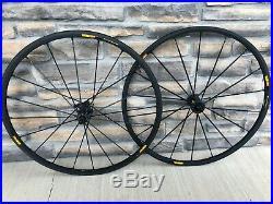 Mavic Ksyrium SLR Exalith 11s 700c Aluminum Clincher Road Bike Wheelset Shimano
