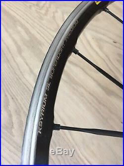 Mavic Ksyrium SL Premium Road Bike Wheelset 700c Clincher 9-10-11 Speed Shimano