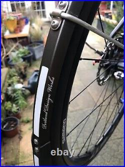 Mens Boardman Road Bike Disc Brakes Shimano 105 Fizik Carbon Large