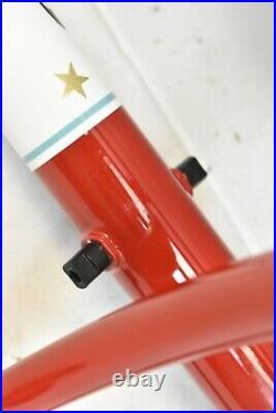 Mixte Sport Touring Buena Vista Disk 58cm Frame Set Soma Rosso Red Ships USA