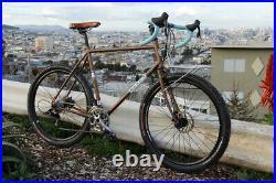 New Albion Drake Touring Road Bike Frame 58cm Large 650B 27.5 Disc Tange Steel