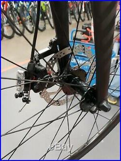 New Triban RC 520 Road Bike (Size L, Navy, Shimano 105, TRP Hydro Disk Brakes.)