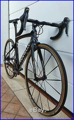 PINARELLO DOGMA F8 team SKY italian carbon road bike size 47 SHIMANO DURA ACE 11