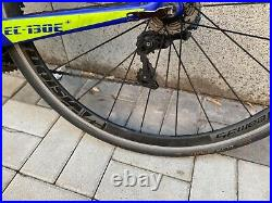 Planet X EC130E carbon road bike racing blue aero used shimano 105