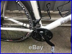 Planet X Pro Carbon 56 Cm Road Bike Shimano 105 Group Set Triple Tiagra Shifters