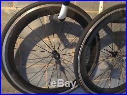 Planet X Pro Carbon Clincher Road Bike Cycling Front/Rear Wheels Sram/Shimano