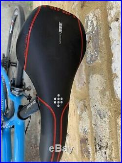 Planet X Pro Carbon Shimano Ultegra Compact Road Bike Large In Guru Blue 12-28
