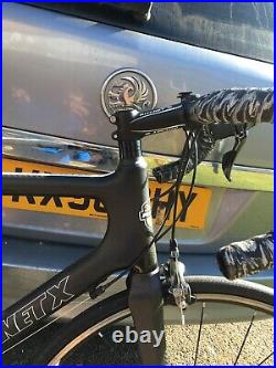 Planet x Pro Carbon road bike with Shimano group set