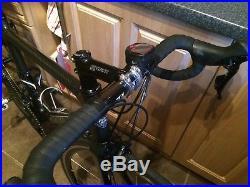 Planet x pro carbon 105 shimano 11 speed road bike carbon fibre MEDIUM