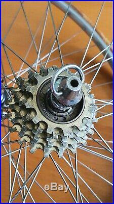 Rare 1st. Gen. SHIMANO DURA ACE black edition CRANE groupset vintage road bike