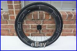 Rear HED JET 9 Black Plus Wheel 25mm Shimano/Sram 10/11 Speed Rim Brake
