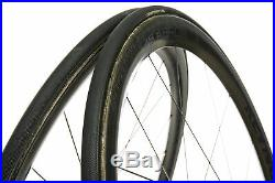Reynolds 46 Aero Road Bike Wheel Set 700c Carbon Tubular Shimano 11 Speed