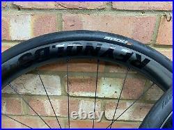 Reynolds AR 41 Disc Road Bike Wheelset 700c Carbon Tubeless Shimano 11 Speed