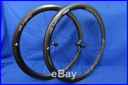 Reynolds Aero 46 Carbon 700c Clincher Road Bike Wheelset QR Shimano 11spd