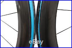 Reynolds Aero 65 DB Road Bike Wheel Set 700c Carbon Clincher Shimano 11s I9 Disc