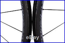 Reynolds Attack Road Bike Wheel Set 700c Carbon Clincher Tubeless Shimano 11S