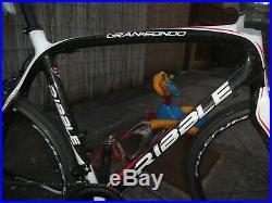 Ribble GranFondo Carbon Road Bike XL58cm Shimano 105Gear Shifters Fulcrum Wheels