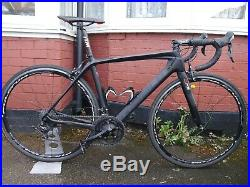 Ribble Stealth R872 Carbon Road Bike 48cm Shimano 105 22 speed + Fulcrum Quattro