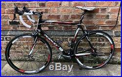 Ridley Carbon Road Bike. Shimano Ultegra Groupset. Aero Wheels