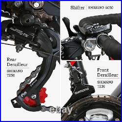 Road Bike Shimano Shimano 21 Speed Disc Brake mens Bicycle 54cm 700C wheel gift