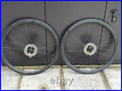Roval Rapide CLX 40 Carbon Wheelset Ceramic DT Swiss 240 hubs Shimano Ice DISC