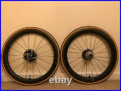 Roval Rapide CLX Disc Wheelset Turbo Cotton Tyres Shimano 11speed Latex tubes