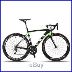 SAVA HERD 5.0 700C Road Bike 2x11 Speed Carbon Fiber Bicycle Shimano 5800 new