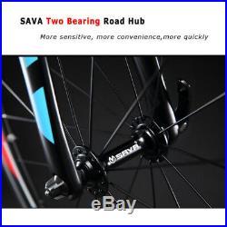 SAVA Warwind3.0 Carbon Road Bike, 700C Carbon Bicycle with Shimano SORA 3000 18S