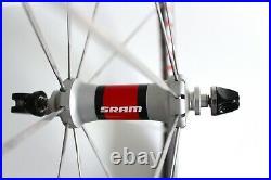SRAM S40 CARBON CLINCHER WHEELS 700c 9 / 10 SPEED WHEELSET SHIMANO ROAD BIKE TT