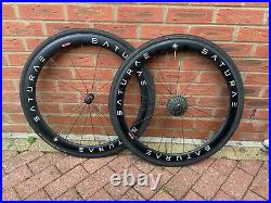 Saturae 50mm Carbon Road Clincher Wheelset Shimano