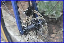 Scott Addict 20 Disc Carbon Road Bike, Shimano 105, Size 54 Medium, Dark Blue