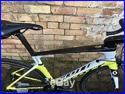 Scott Foil Shimano Dura Ace Ultegra Di2 Carbon Road TT Triathlon Bike Fulcrum