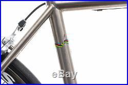 Seven Cycles Custom Alaris Road Bike 56cm Titanium Shimano Dura-Ace Reynolds
