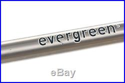 Seven Evergreen S Disc Road Gravel Bike 55cm TT MEDIUM Titanium Shimano Ultegra