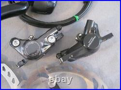Shimano 105 Rs505 Hydraulic Disc Brake Set Road Bike 11 Speed Shifters, Race, CX