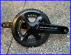Shimano Dura-Ace FC-R9100 165mm 50-34T 11-Speed Crankset Used