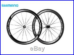 Shimano Dura-Ace WH-9000 C50 Carbon Tubular 700c 11 Speed Road Bike Wheel Set
