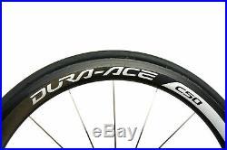 Shimano Dura-Ace WH-9000-C50 Road Bike Wheel Set 700c Carbon Tubular 11 Speed