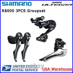 Shimano Ultegra R8000 11 Speed Groupset Front Rear Derailleur Brake Lever Set