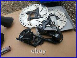 Shimano Ultegra R8070 Di2,11 Speed Hydraulic Part Groupset Disc