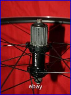 Shimano WH-RS11 700c Road Wheels Rim Brake QR Wheelset 8/9/10/11 Speed F+R NEW