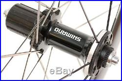 Shimano WH-RS81 C50 10/11 Speed Clincher Road Bike Wheelset 700c Alloy Carbon