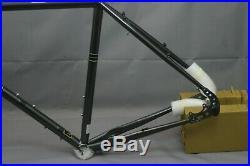 Soma Saga Touring Road Bike Frame Set Large L 58cm Disc Tange Steel USA Charity