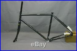 Soma Saga Touring Road Bike Frame Set Medium 56cm Disc Tange Steel USA Charity