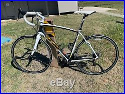 Specialized Roubaix Elite 56 cm Large L Carbon Fiber Road Bike Shimano 105