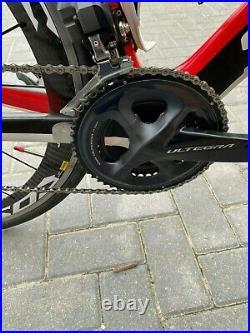 Specialized S WORKS VENGE CARBON ROAD RACE BIKE shimano di2 Carbon Mavic Wheels