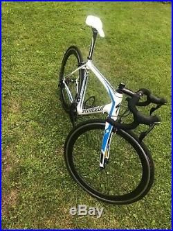 Specialized Tarmac Comp Fact 54 Carbon Road Race Bike Shimano 105 2x11