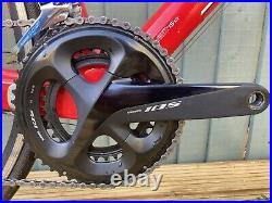 Specialized Tarmac Elite 58cm 2011 Shimano 105 11-speed Fulcrum Racing 3 wheels
