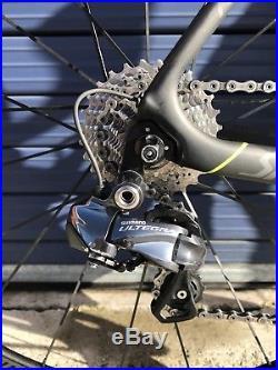 Specialized Tarmac Pro Road Bike cycle Shimano Ultegra 6870 DI2 Size 54