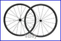 Straight Pull Full carbon Tubeless Clincher Wheelset for 700C Road Bike